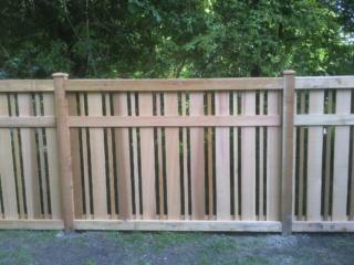 C-0770 – Short Cedar Fence