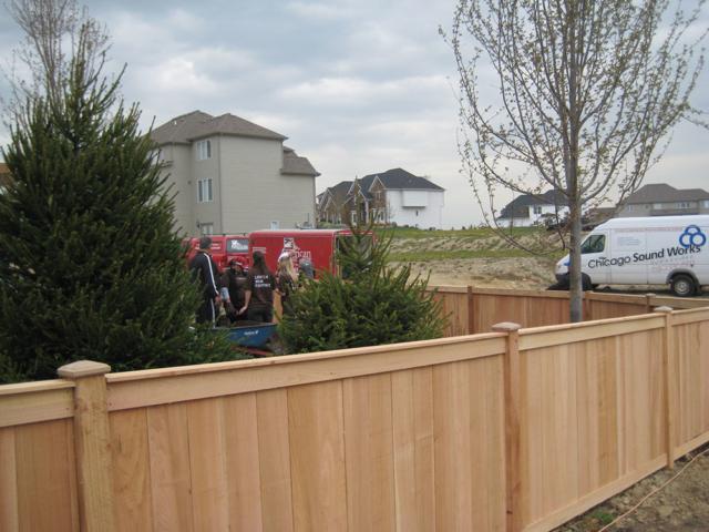 C-0768 – Short Cedar Fence