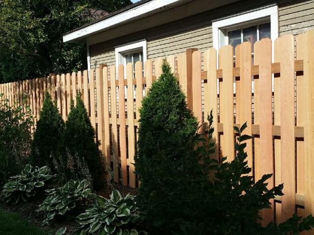 C-0766 – Cedar Slat Fence
