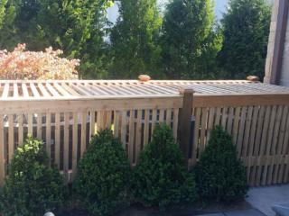 C-0753 - Short Cedar Fence Utility Cover