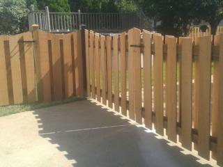 C-0744 - Cedar Fence Gate