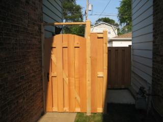 C-0741 - Cedar Fence Gate