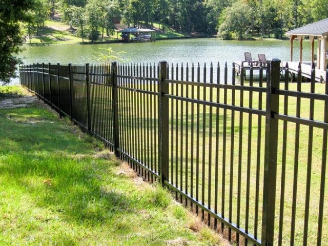 Echelon Classic Aluminum Fence