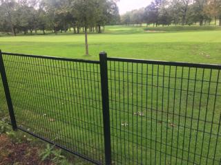 M-0735 - Short Wrought Iron Fence