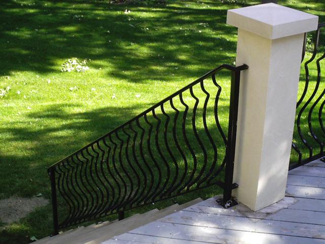 M-0741 - Wrought Iron Hand Rail