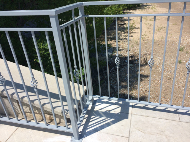 M-0743 - Wrought Iron Railing