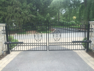 M-0745 - Wrought Iron Gate and Operator