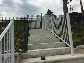 M-0748 - Wrought Iron Fence, Gate and Railing
