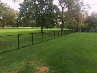 M-0749 - Wrought Iron Fence