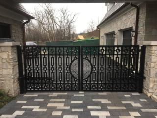 M-0751 - Wrought Iron Gate