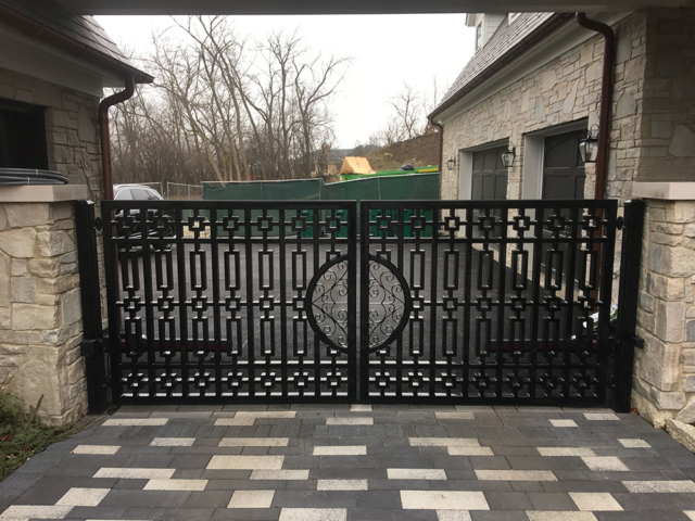 M-0751 - Wrought Iron Gate