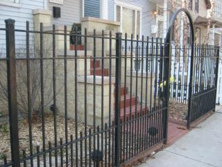 M-0754 - Wrought Iron Fence
