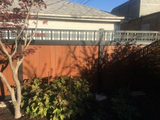 PC-0102 - Painted Cedar Fence