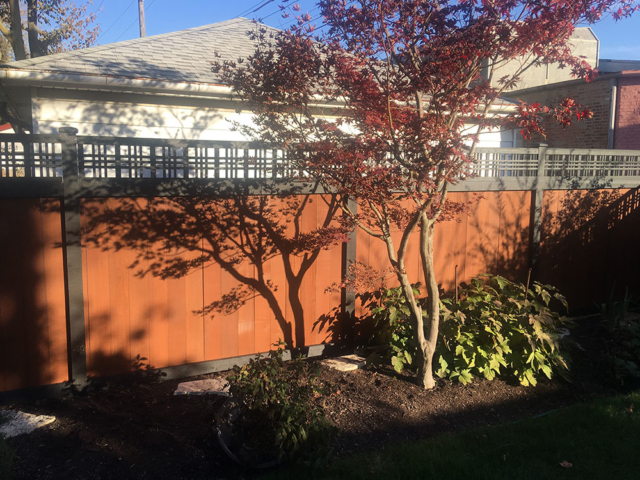 PC-0103 - Painted Cedar Fence