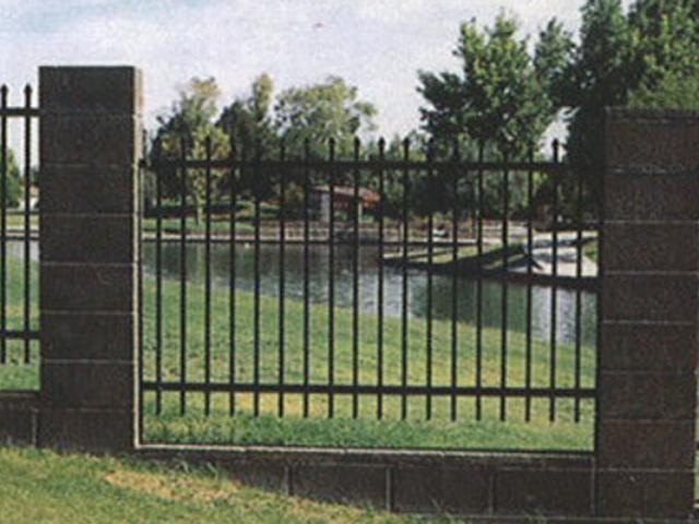A-0703 - Aluminum Fence
