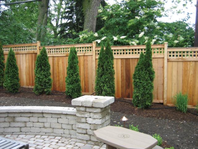 C-0713 - Cedar Fence