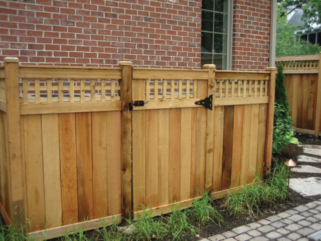 C-0715 - Cedar Fence