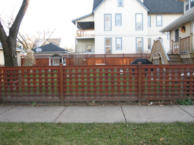 C-0722 - Cedar Fence