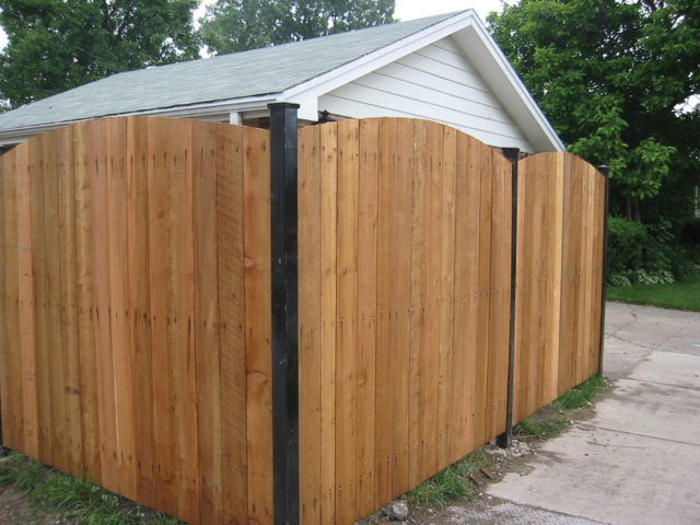 C-0733 - Cedar Privacy Fence