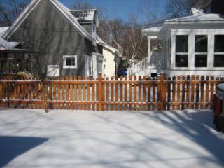 C-0728 - Cedar Fence