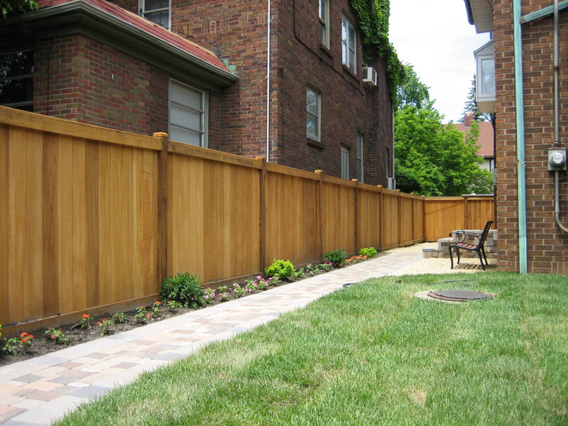 Cedar Fencing Product Examples