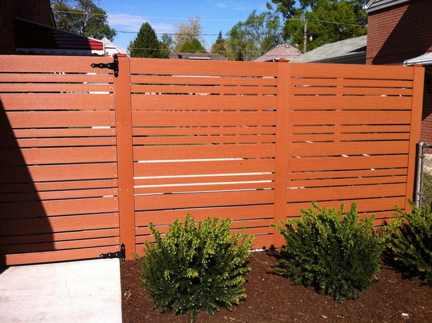 HC-0108 – Horizontal Cedar Fence