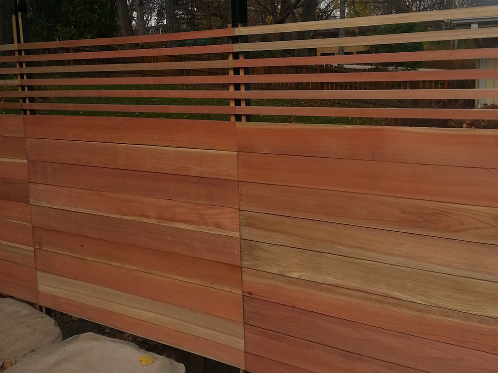 HC-0110 – Horizontal Cedar Fence