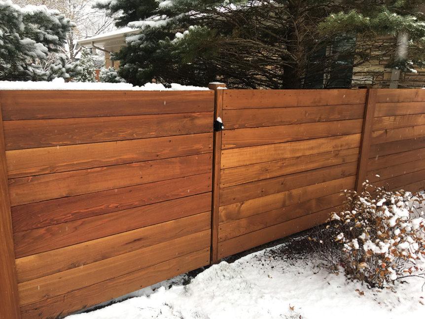 HC-0112 – Horizontal Cedar Fence