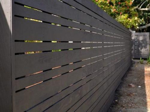 HC-0114 – Horizontal Cedar Fence