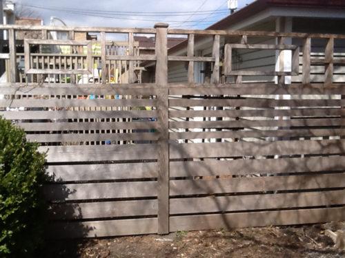 HC-0115 – Horizontal Cedar Fence
