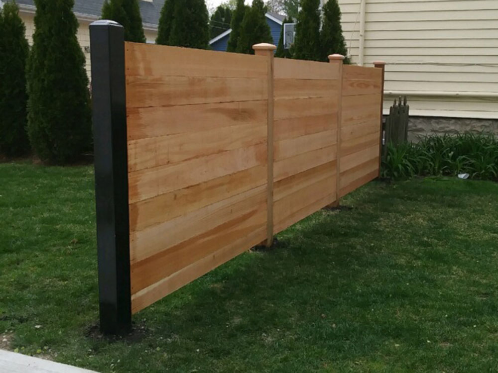 HC-0116 – Horizontal Cedar Fence