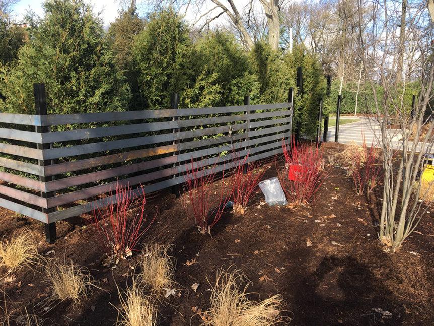 HC-0117 – Horizontal Cedar Fence