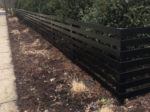 HC-0118 – Horizontal Cedar Fence