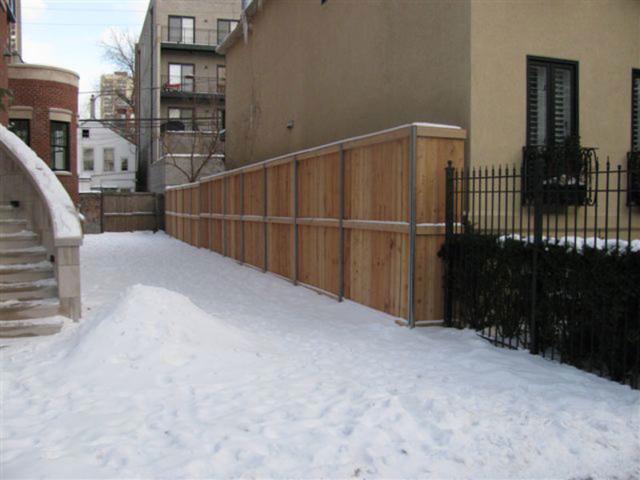 C-0740 - Cedar Fence
