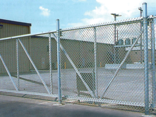 L-0702 - Chain Link Commercial Fence