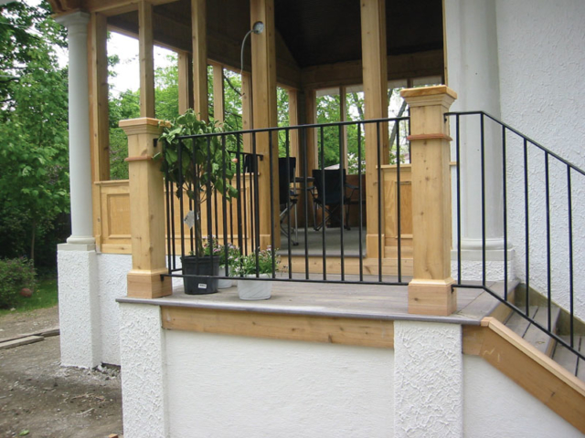 M-0710 - Wrought Iron Railing
