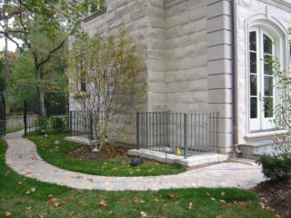 M-0712 - Wrought Iron Fence