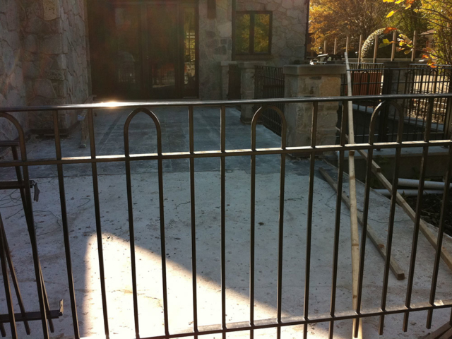S-003 - Steel Fence
