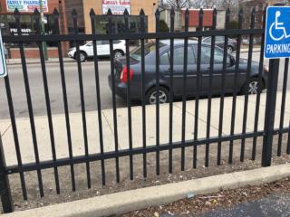 S-006 - Steel Fence