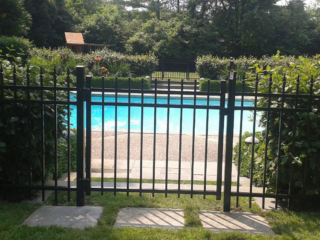 S-010 - Steel Fence and Gate