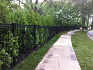 S-012 - Steel Fence