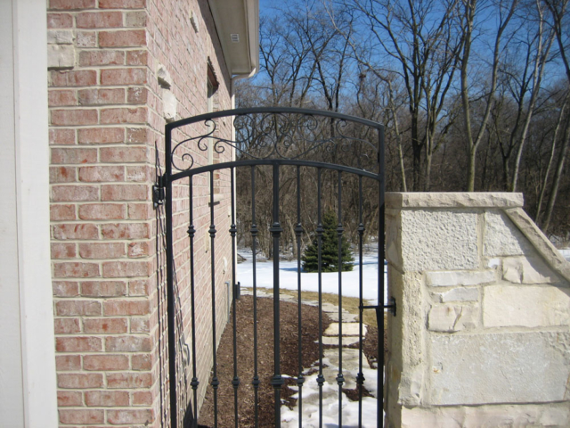M-0721 - Wrought Iron Gate