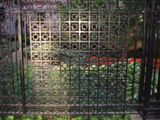 M-0703 - Wrought Iron Decorative Custom Fence