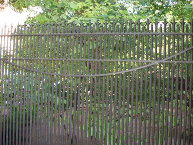 M-0722 - Wrought Iron Fence