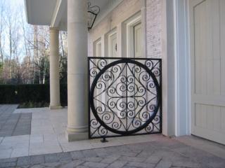 M-0704 - Wrought Iron Decorative Fence