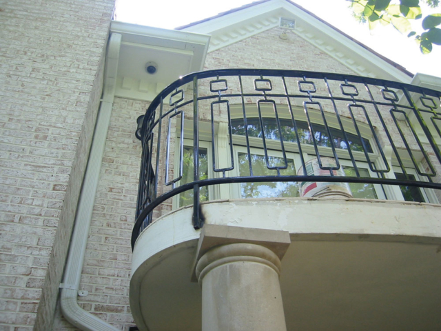 M-0721 - Wrought Iron Balcony