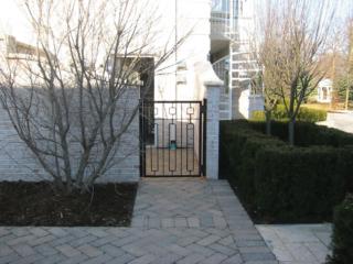 M-0725 - Wrought Iron Gate