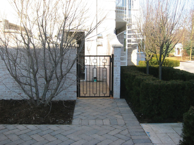 M-0725 - Wrought Iron Gate