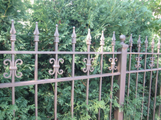 M-0709 - Wrought Iron Fence