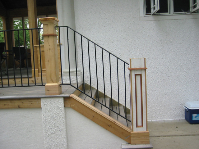 M-0723 - Wrought Iron Railing